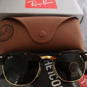 NEW✨Ray-Ban Clubmaster Classic Black RB3016 51mm